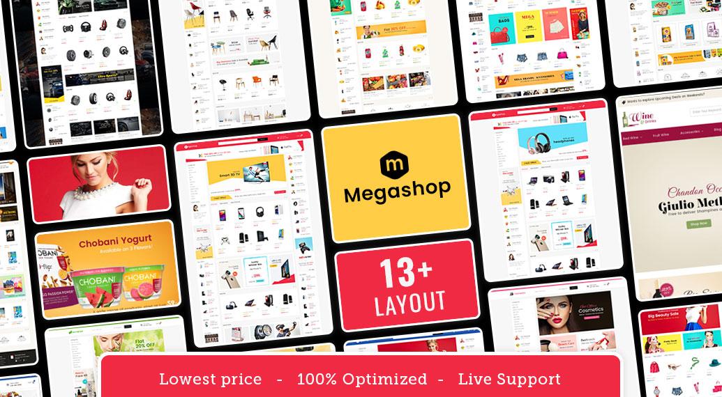 PrestaShop WooCommerce Template